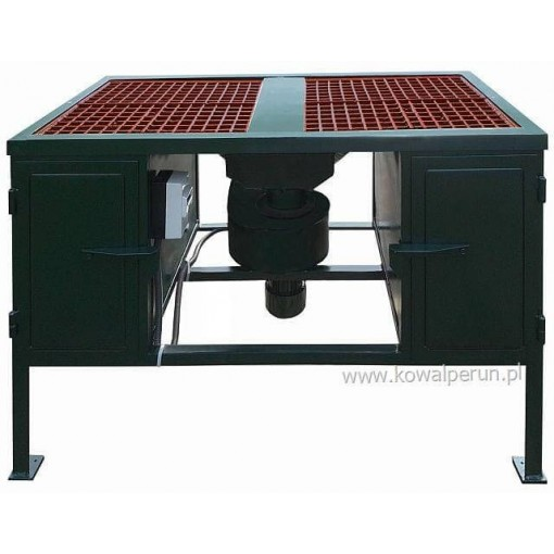 Welding tables with two grills type S4