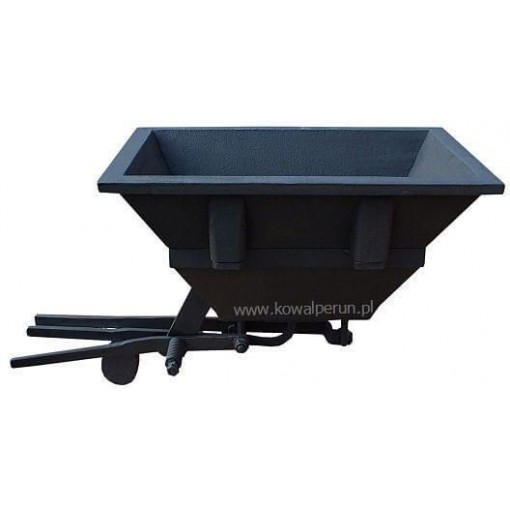 Firepot with Dumping Ashgate 495x320 x115 [mm]