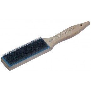 Wire brush for cleaning files